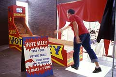 Democra-Skee Vote Alley