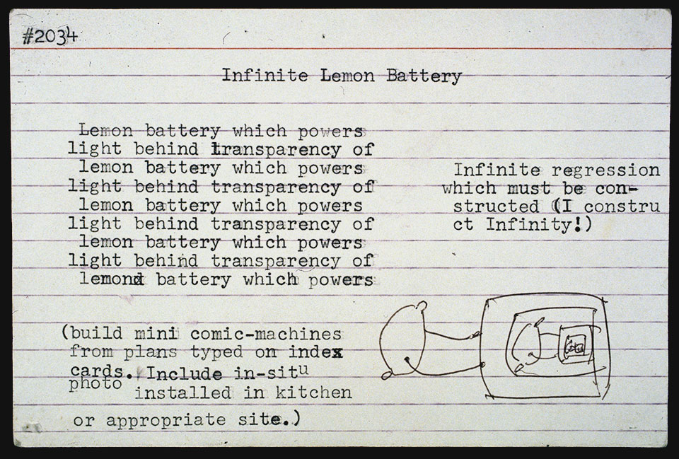 Infinite Lemon Battery